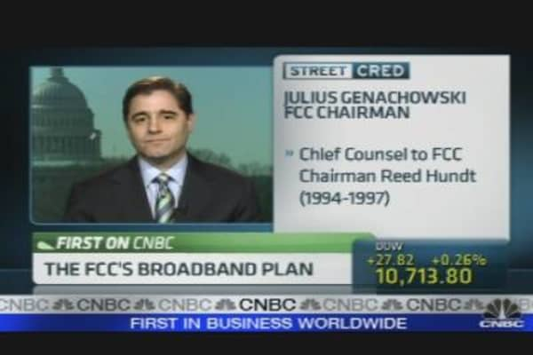 FCC Chairman on Broadband Plan