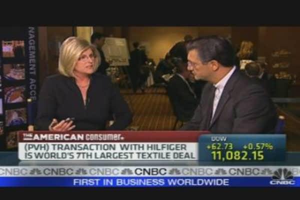 Exclusive: Phillips-Van Heusen CEO