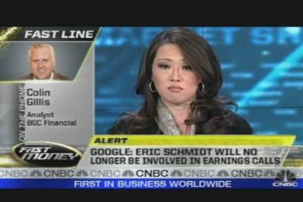 Why Is Schmidt Going Silent?