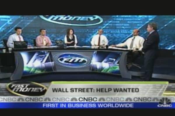 Wall Street: Help Wanted