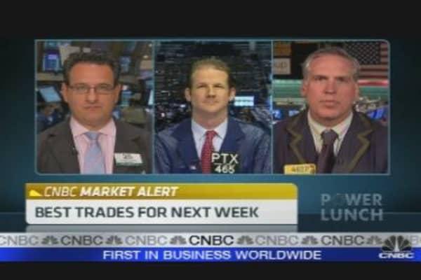 Afternoon Trader Talk