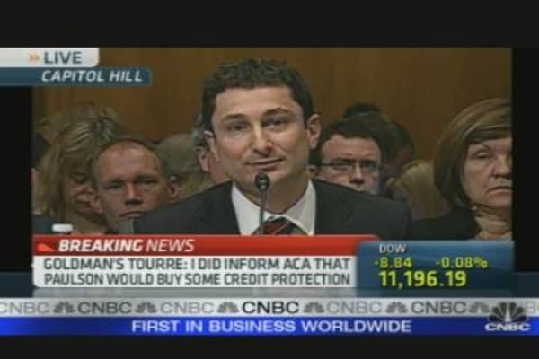 Goldman Hearing: Tourre's Opening Statement