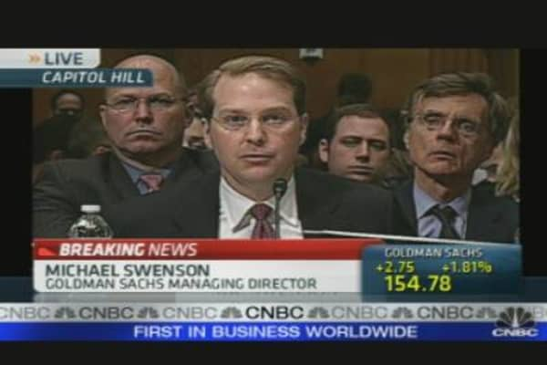 Goldman Hearing: Swenson's Opening Statement