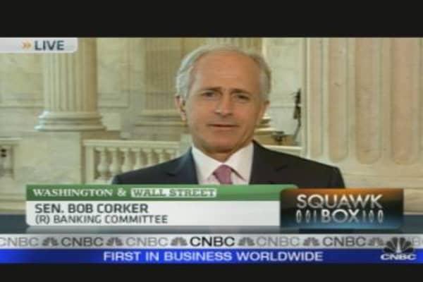 Sen. Corker on Financial Regulation
