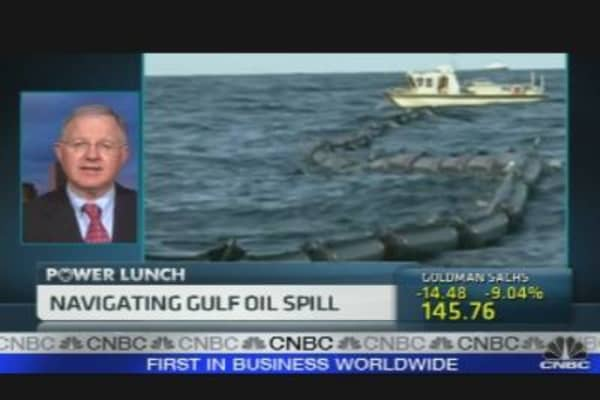 Gulf Oil Spill Spreads