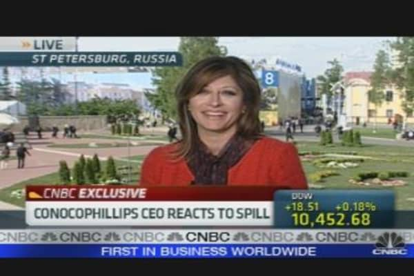 ConocoPhillips CEO on Hayward