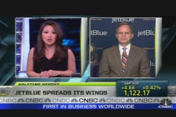 JetBlue Spreads it Wings