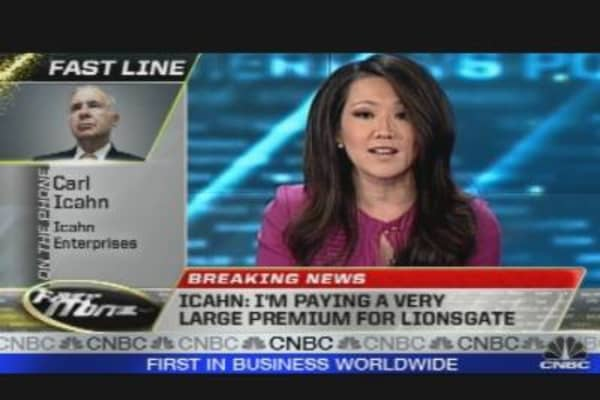Carl Icahn's Offer for Lionsgate