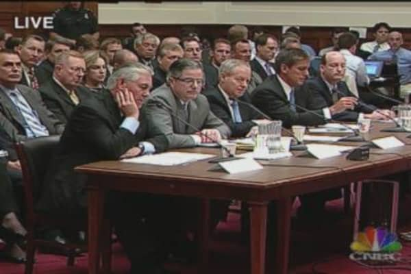 Big Oil CEOs Grilled On the Hill, Pt. 2