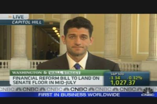 Rep. Ryan on the Future of FinReg