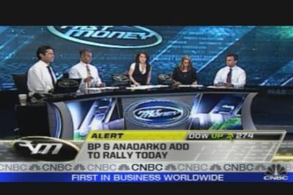 BP & Anadarko Add to Rally