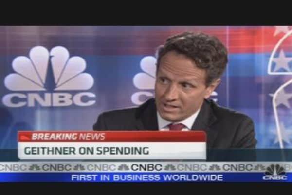 Geithner on Obama & Business
