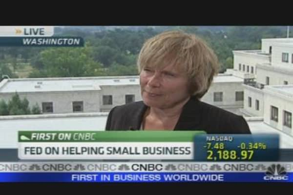 Fed on Helping Small Biz