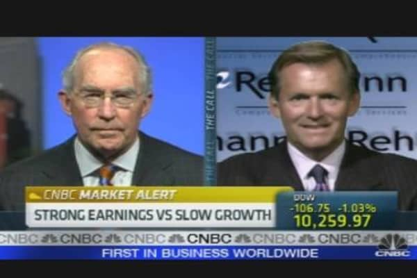 Strong Earnings vs Slow Growth