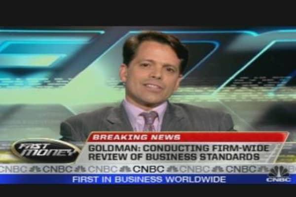 Goldman Shares Jump on Settlement