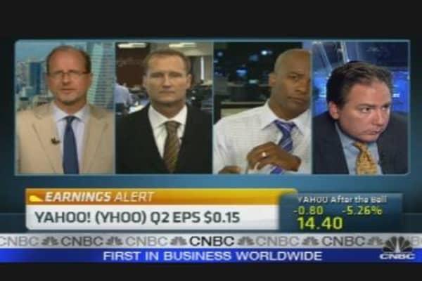 Yahoo Earnings Reaction