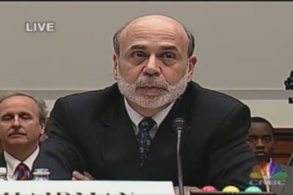 Bernanke Testifies on Monetary Policy: Day 2, Pt. 1