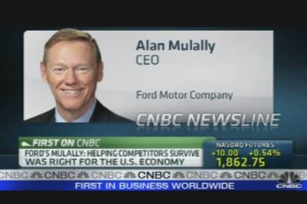Ford CEO on Earnings