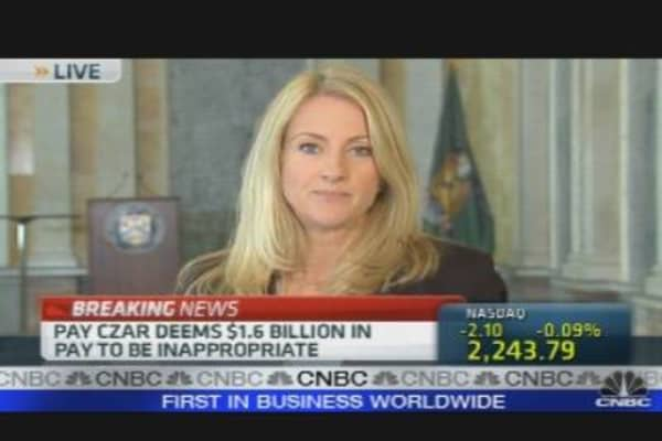 Pay Czar: Eleven Banks Repaid TARP