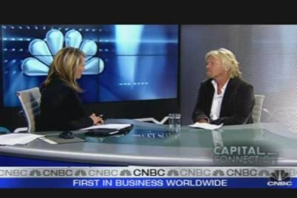 World Back On Its Feet: Virgin's Richard Branson
