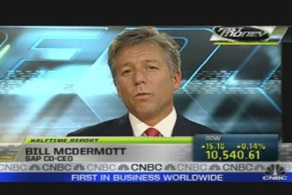 SAP CEO on Earnings