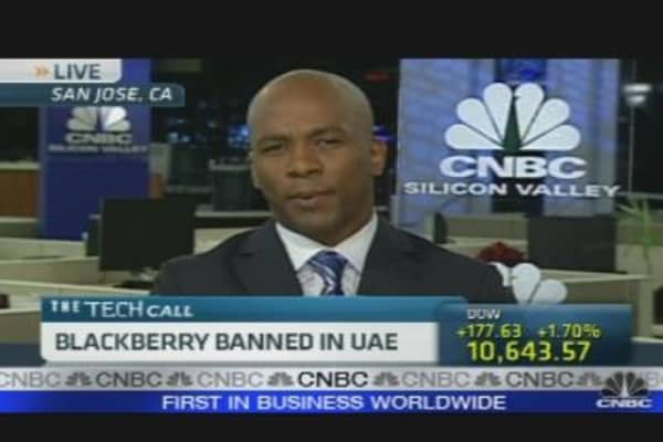 Blackberry Banned in UAE?