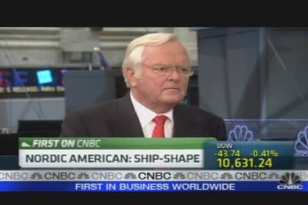 Nordic American Tanker CEO on Earnings