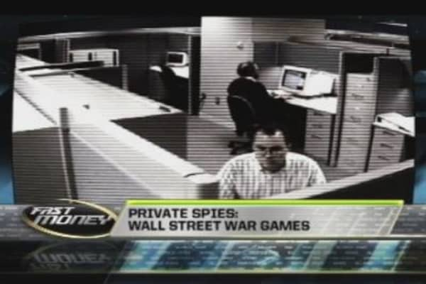 Private Spies: Wall Street War Games