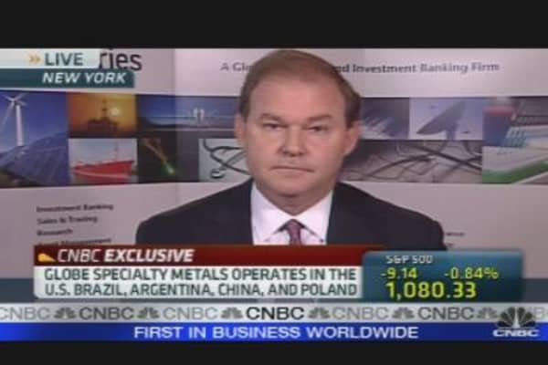 Globe Specialty Metals CEO on Commodity Prices