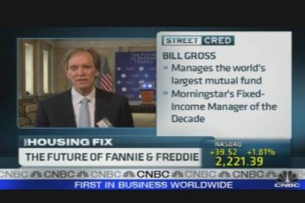 Pimco's Gross: Make Fannie & Freddie Bigger