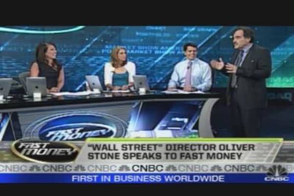 Oliver Stone on Wall Street 2