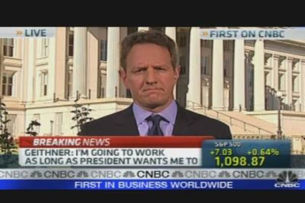 Geithner on Obama's Economic Proposals