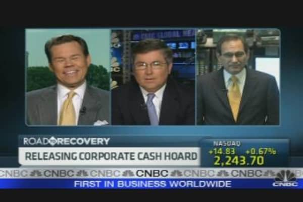 Releasing Corporate Cash Hoard