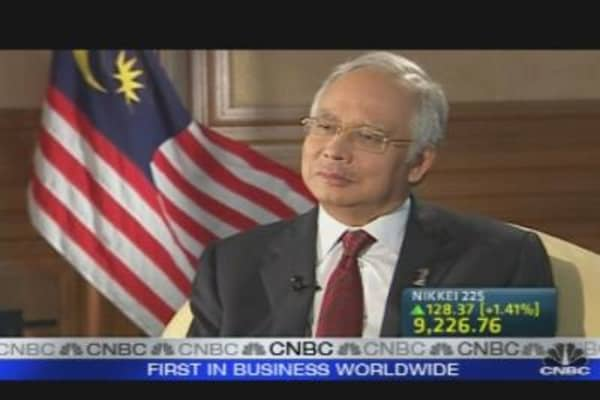 Malaysia PM: Comfortable with Strong Ringgit