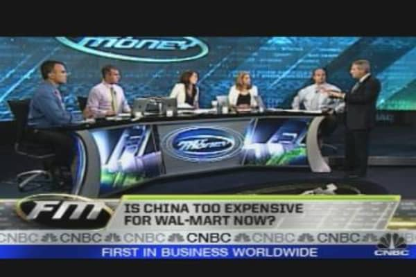 Trading the Globe: China Too Expensive for Walmart
