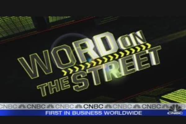 Word on the Street: Oracle & RIMM