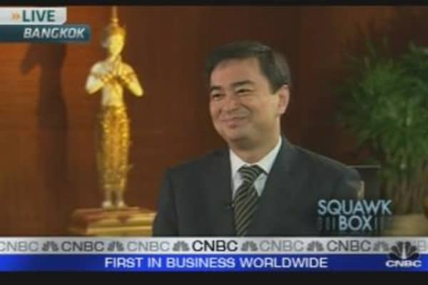 Thai PM: Economy Making Steady Progress