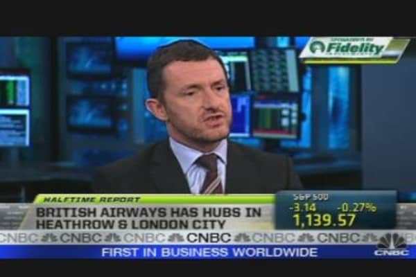 Call to the Floor: British Airways Exec.