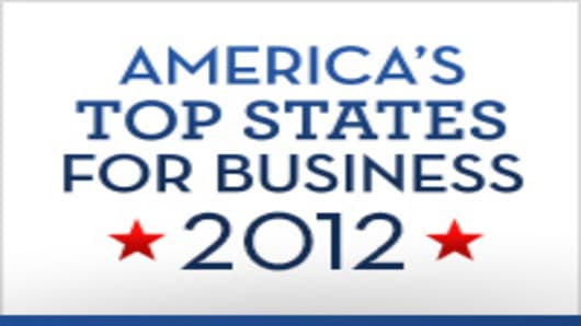 America's Top States For Business