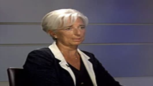 Maria Bartiromo interviews Christine Lagarde.