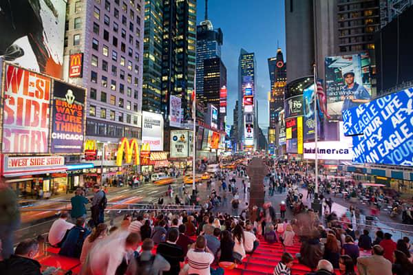 Most expensive: New York (Manhattan) House: $1,215,129 Movie ticket: $13.06 Rent: $3,378 Doctor visit: $140.40 Gallon of gas: $3.884 T-bone steak: $14.25