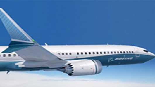 Rendering of the 737 MAX