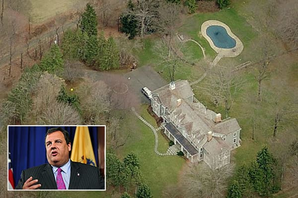 Location: Mendham, N.J.Price: $1.677 million estimated valueBedrooms: N/ABathrooms: N/ASquare footage: 6,979The cantankerous governor of New Jersey is one of the most recognizable state leaders and has been mentioned as a potential running mate for Mitt Romney. His family home on 6 hilltop acres in Mendham was built in 1959.