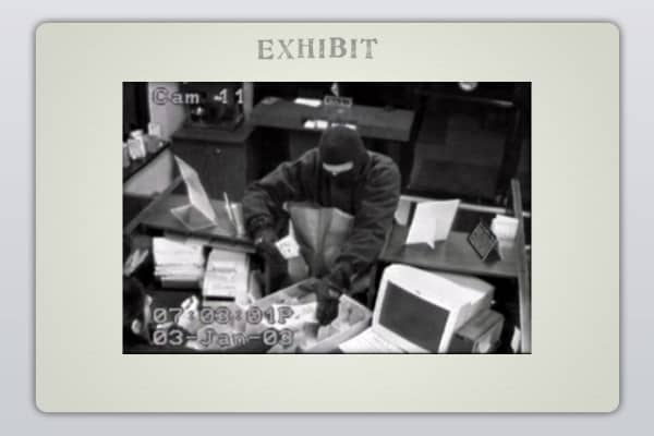 Surveillance Photo - January 3, 2003