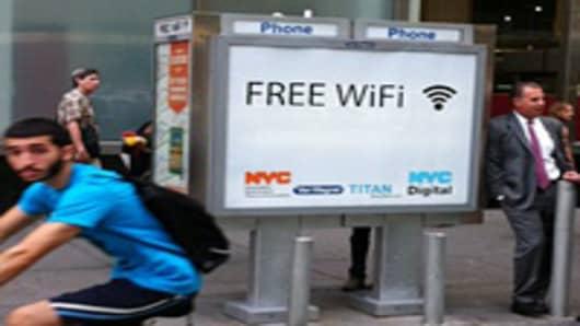 NYC Wi-Fi hotspots