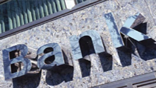Bank Metallic Sign