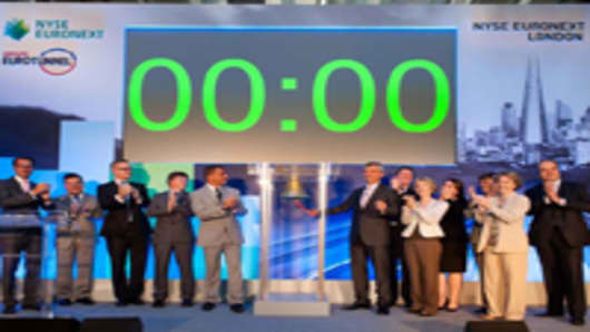 NYSE Euronext launches London based listing.