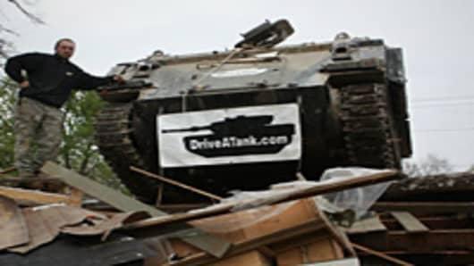 Drive A Tank in Kasota, Minnesota