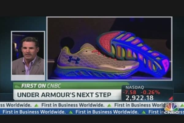 Under Armour CEO on New Sneaker