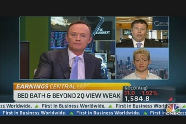 Bed, Bath & Beyond Q2 View Weak